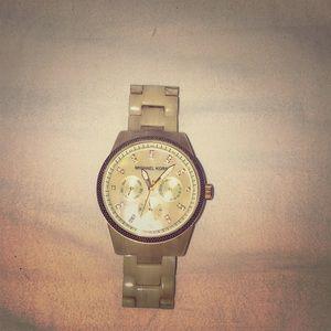 MK ceramic watch